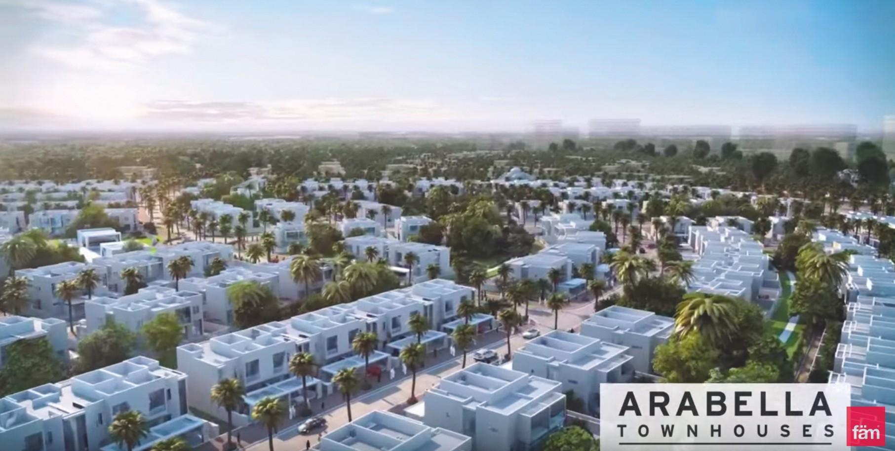 La gated community de Mudon à Dubaï