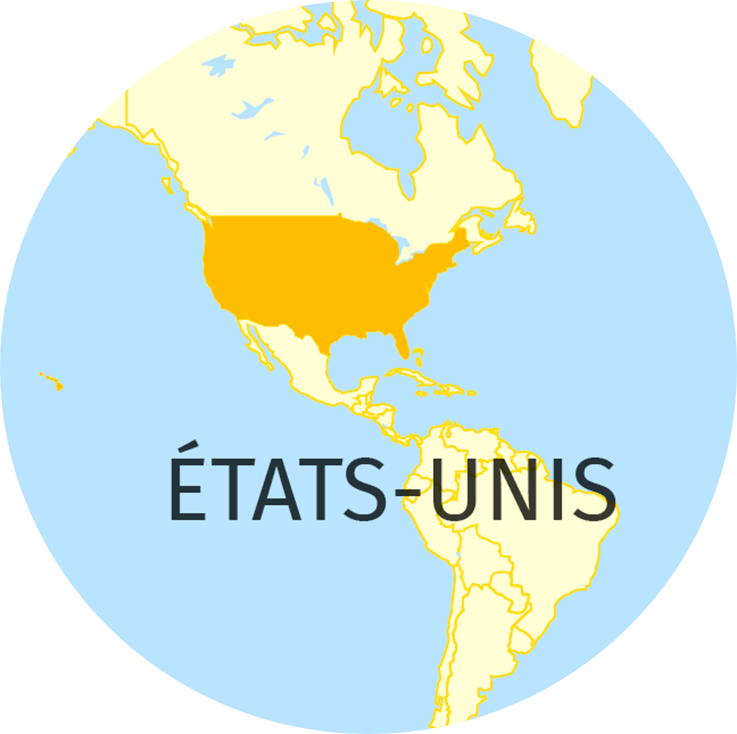 États-Unis, carte