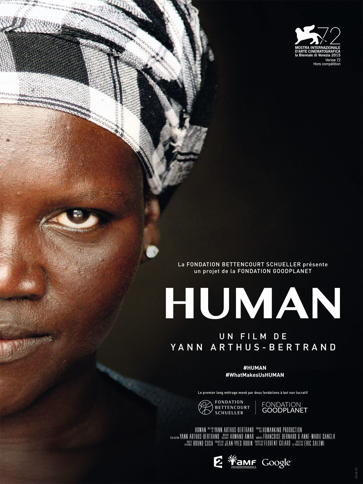 Yann Arthus-Bertrand, Human, film documentaire, 2015