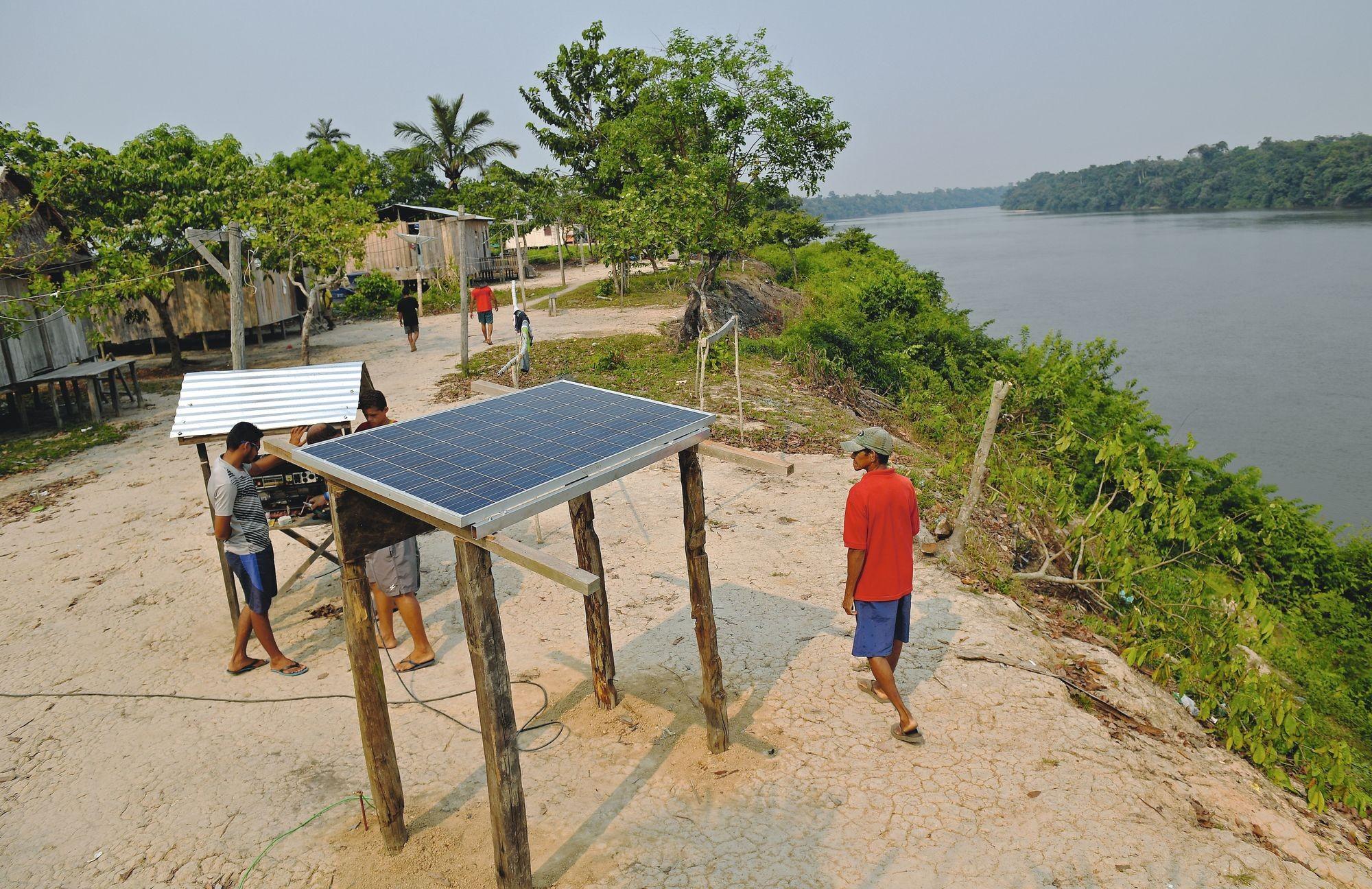 L'énergie solaire pour réduire les inégalités