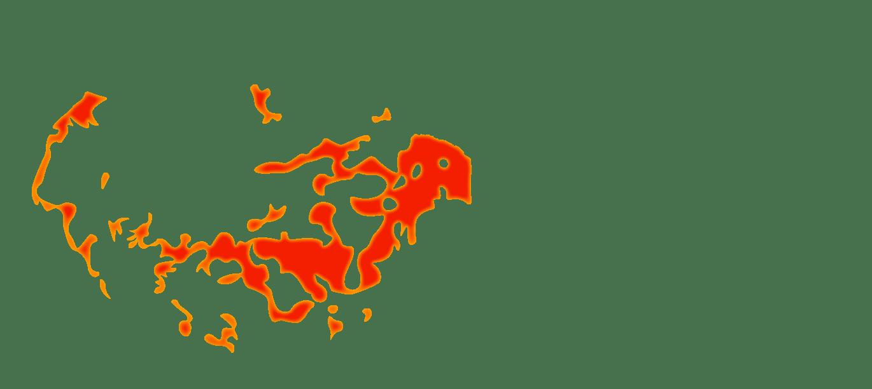 Principales zones déforestées