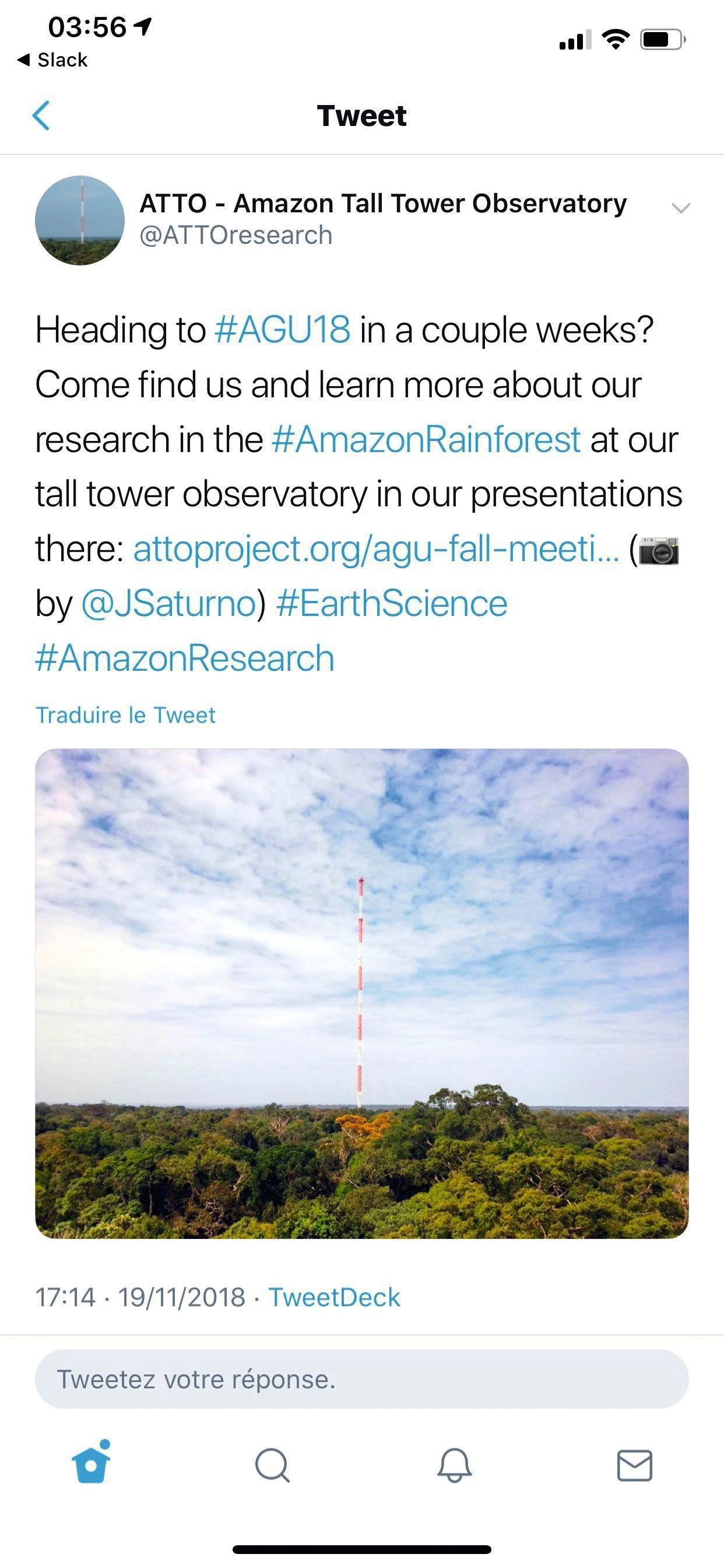 Tweet, Un intérêt scientifique majeur