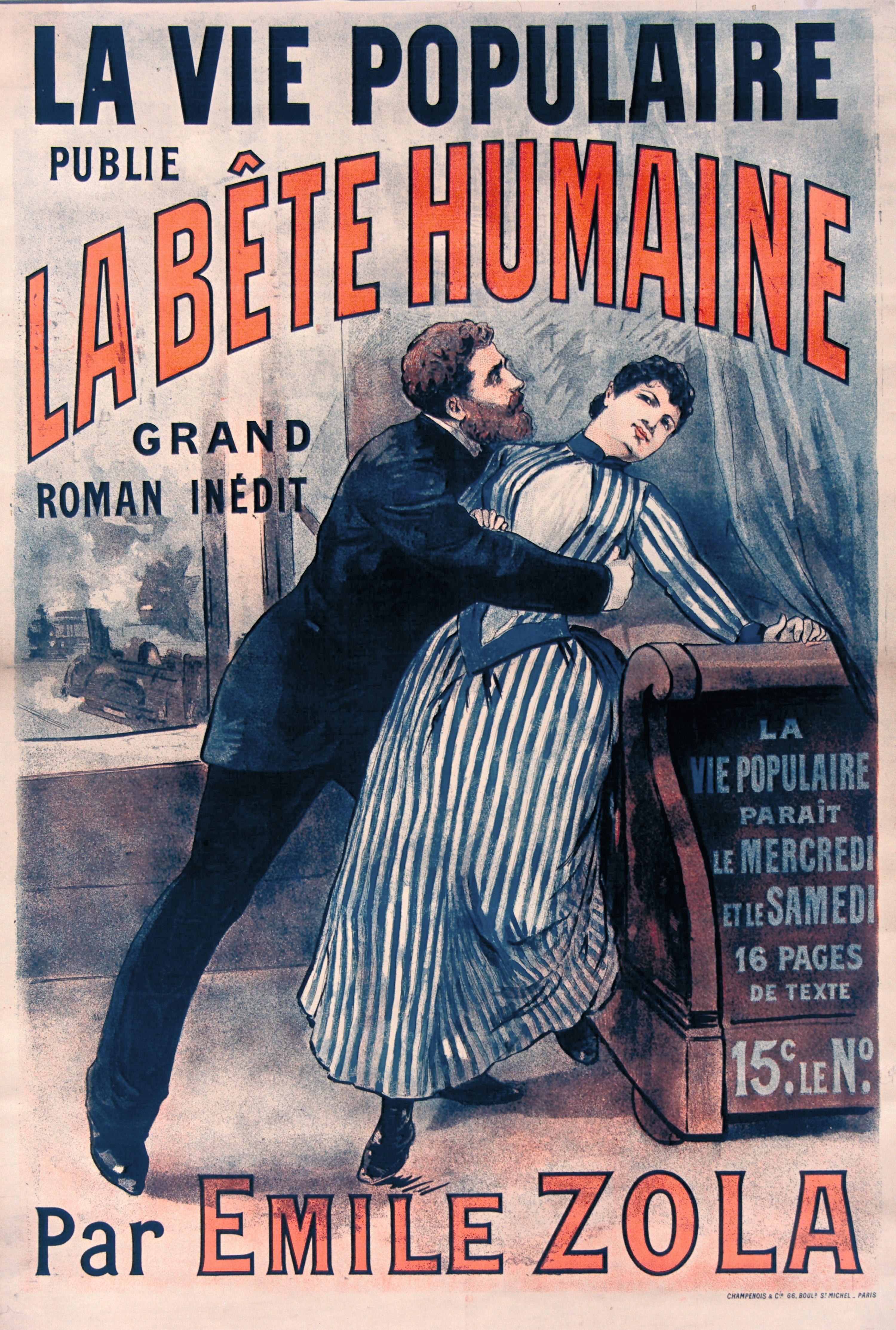 La Vie Populaire, 1889, BnF, Paris.