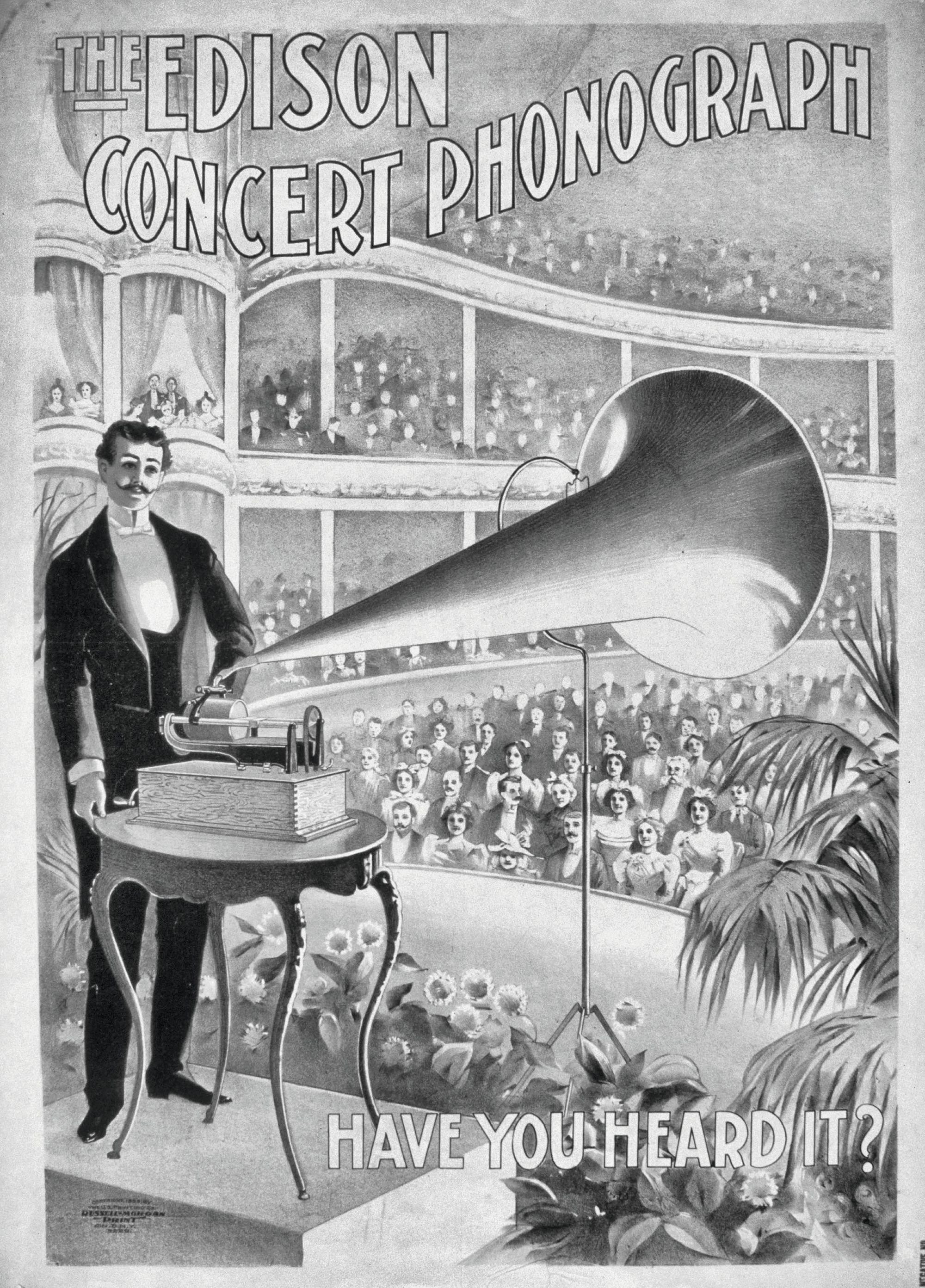 Phonographe d'Edison