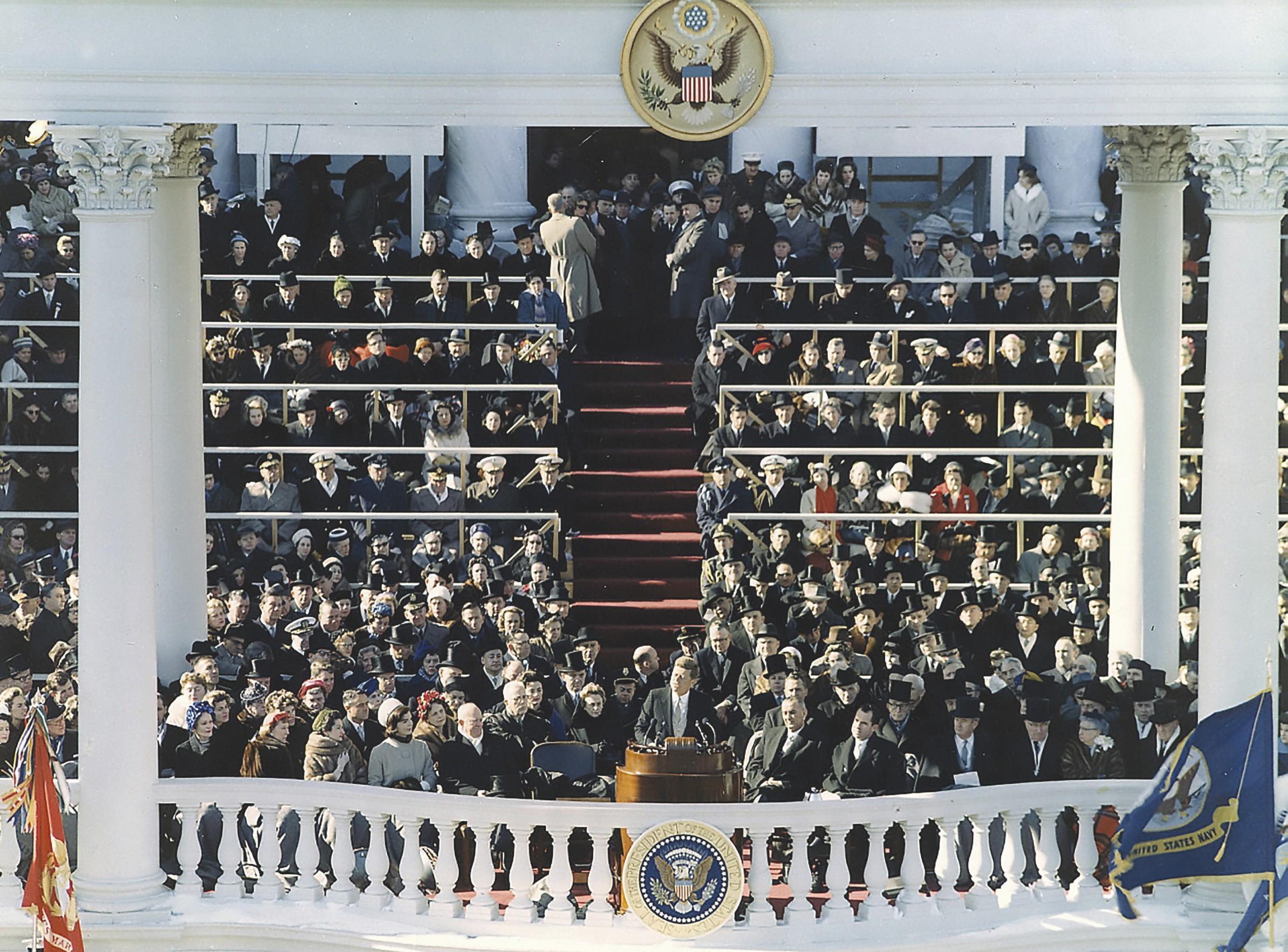 Discours inaugural du président John F. Kennedy, le 20 janvier 1961 à Washington D.C.