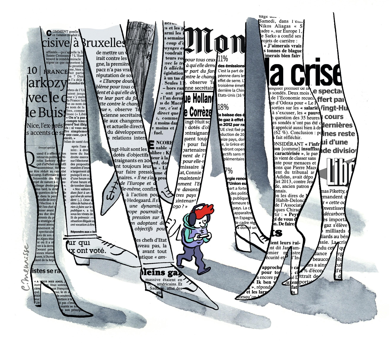 Catherine Meurisse, « Les jeunes accros aux réseaux sociaux (mais pas aux journaux) »