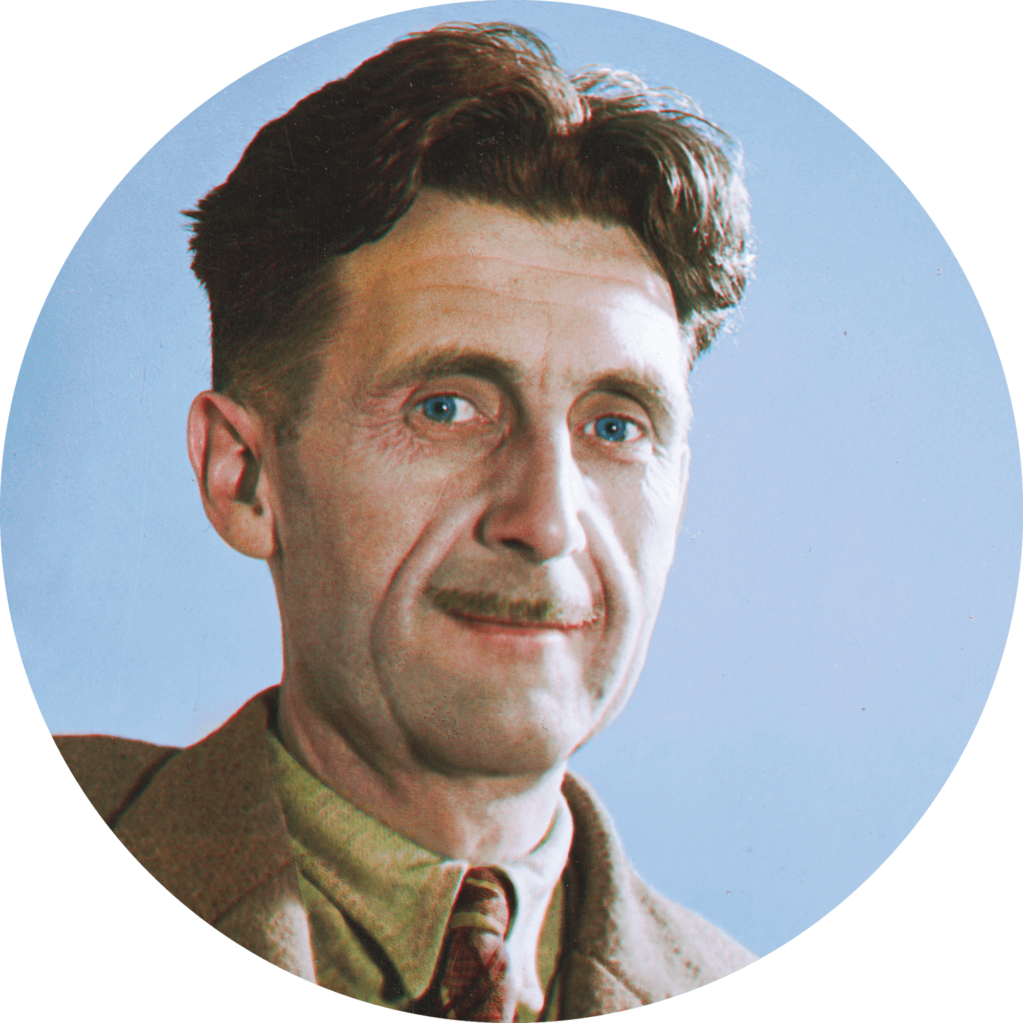 photo portrait George Orwell