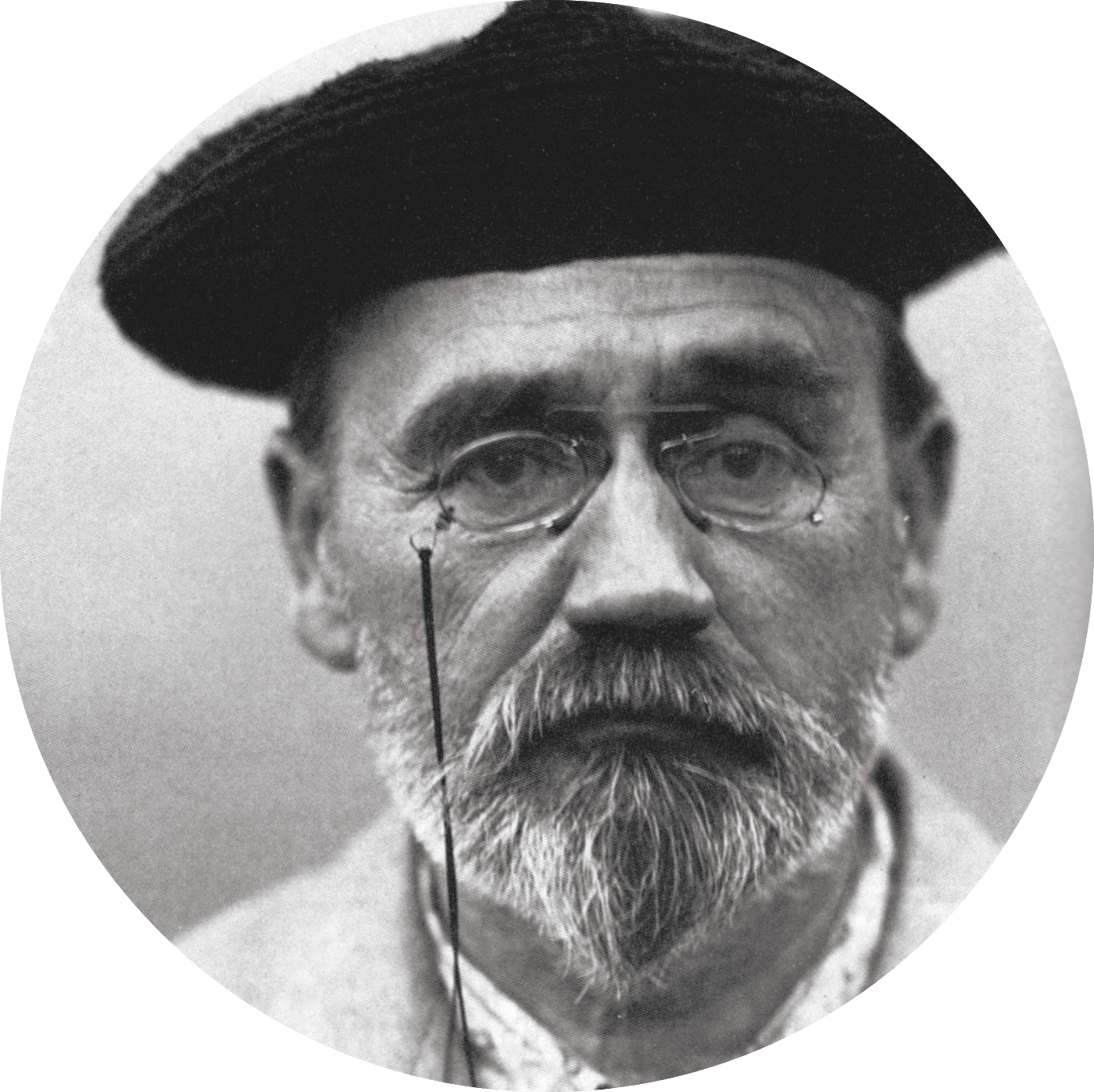 photo portrait Emile Zola