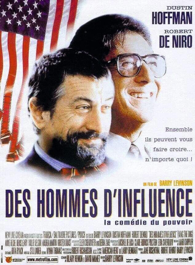 Barry Levinson, Des hommes d'infl uence, 1997.