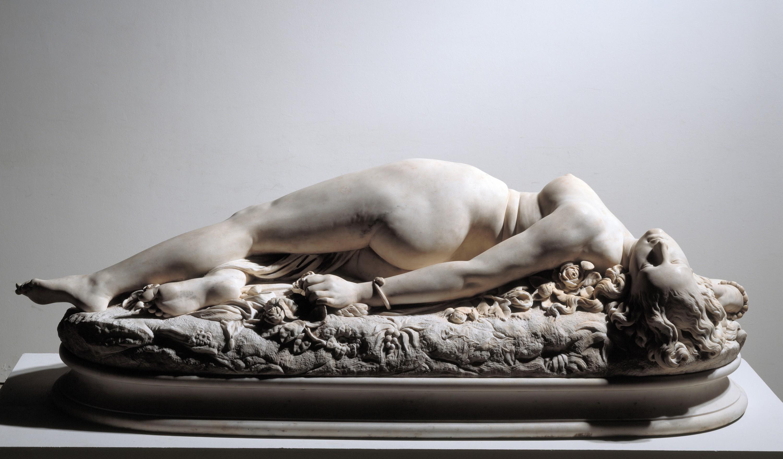 Jean-Baptiste (dit Auguste) Clésinger, Femme piquée par un serpent