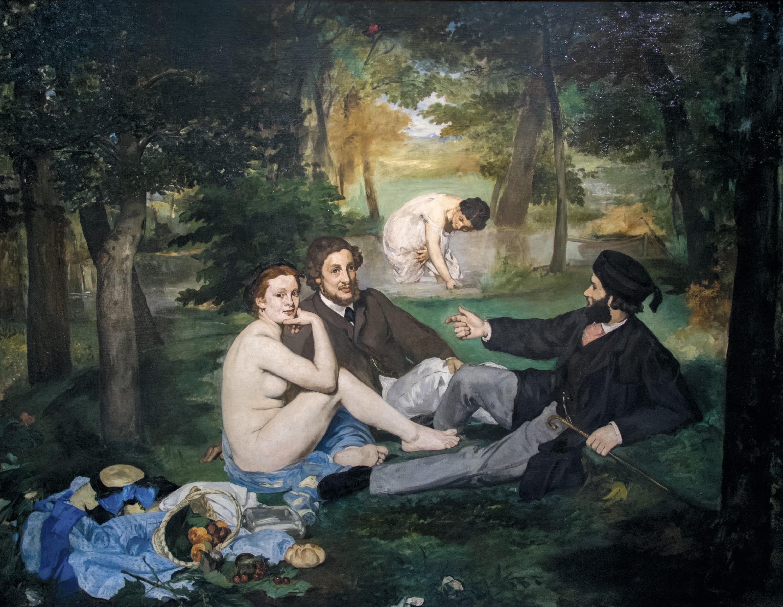 Édouard Manet, Le Déjeuner sur l'herbe, 1863