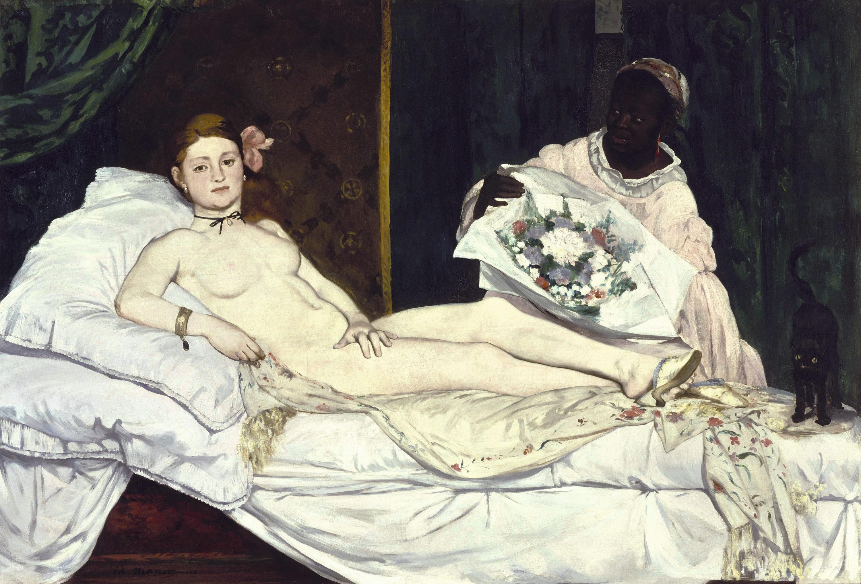 Édouard Manet, Olympia,