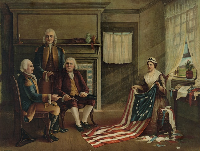 Charles Weisgerber, Naissance du drapeau