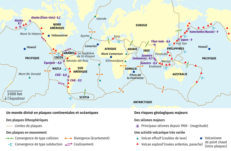 Le monde géologique