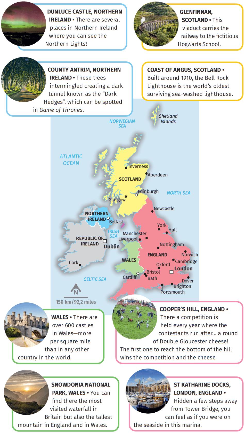 The British Isles: fun facts