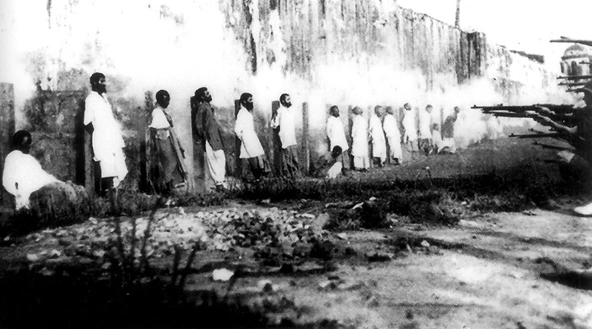 Exécution de cipayes mutinés