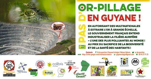 Tract élaboré par Guyane Écologie en mars 2017.