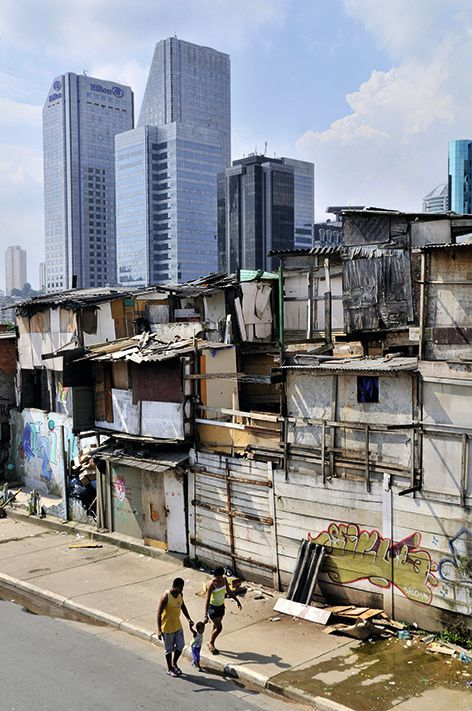 La favela de Paraisópolis