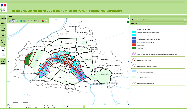 Plan de prévention du risque d'inondation de Paris
