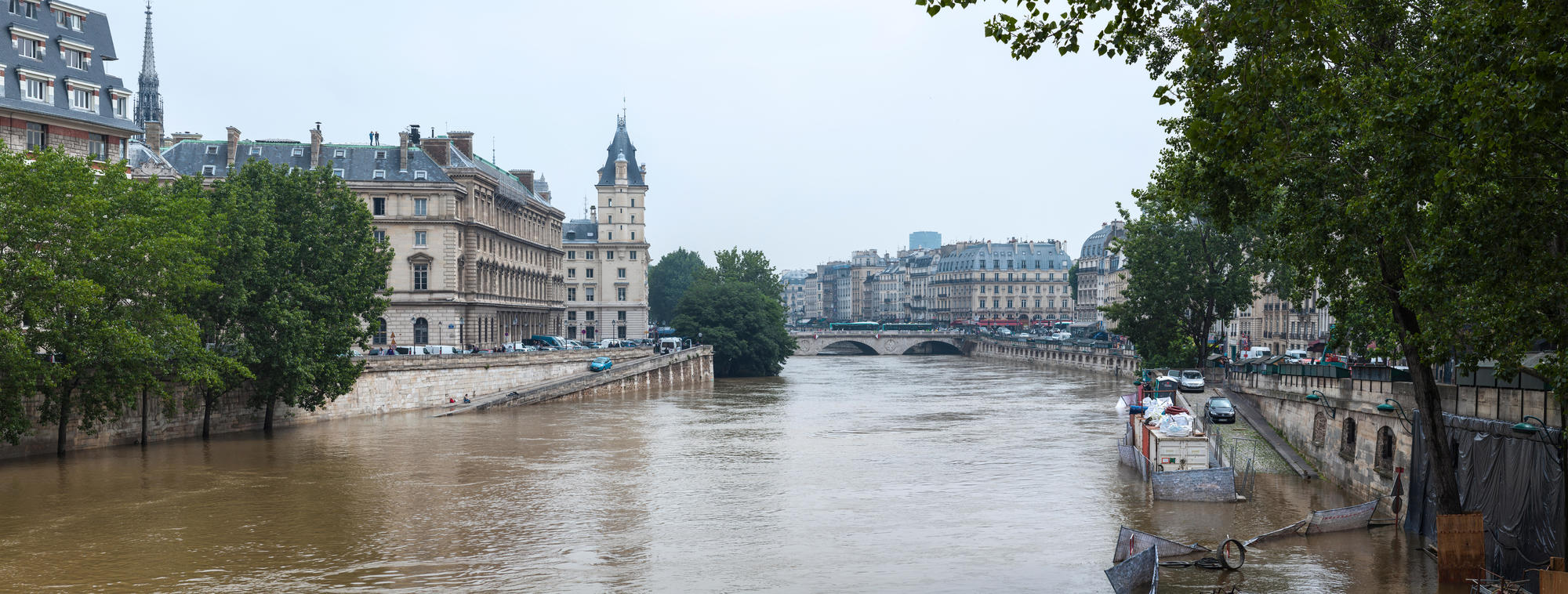 Crue à Paris en 2016