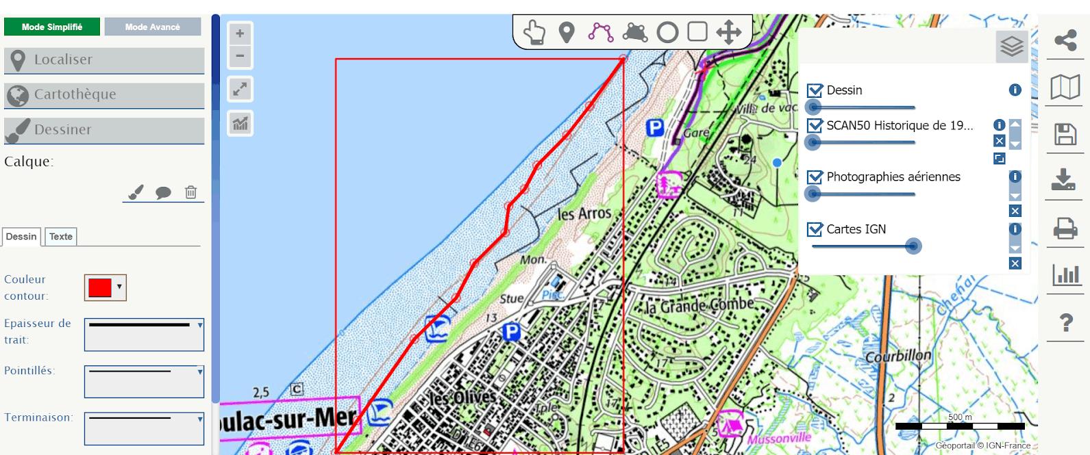 L'érosion littorale sur la côte aquitaine