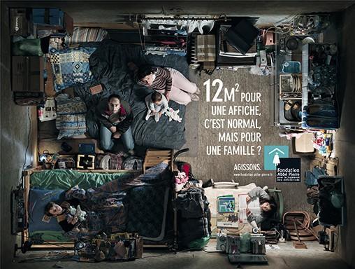 Campagne de la Fondation Abbé Pierre