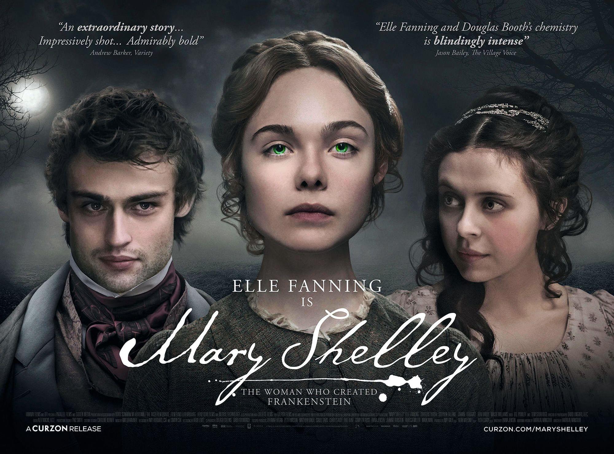 Mary Shelley, by Haufaa al Mansour, 2018.
