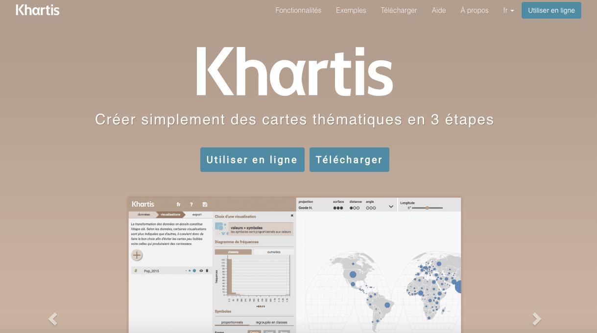 Site internet de Khartis